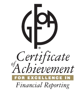 GFOA Award for Excellence in Government Finance