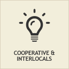 Picture of a shining lightbulb, representing Cooperative Contracting with other governments. See FAQ for more information.