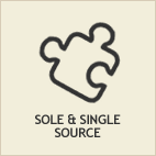 sole/single source